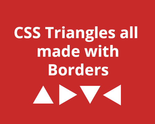 CSS Triangle All Examples with code