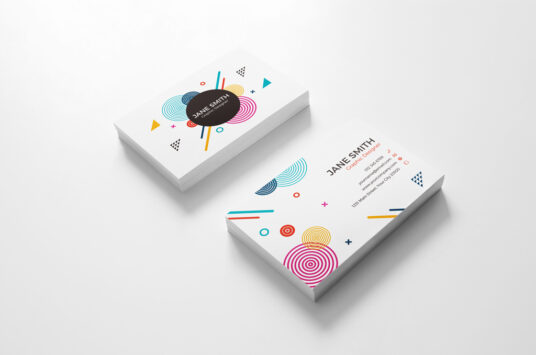 Business Card Branding Mockup Collection